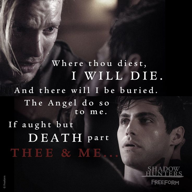 14 best Shadowhunters Quote Board images on Pinterest ...