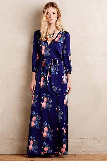 Serein Silk Dress #anthrofave