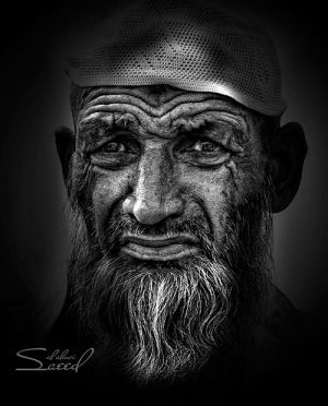 Faces of Old People in Black and White Photography | InspireFirst - by Saeed Al Alawi by dawn