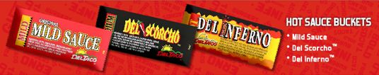 Del Taco Opens Web Store – Sells Hot Sauce Packets