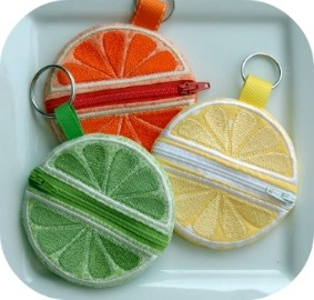 Coin pouchesHoop Citrus, Embroidery Pattern, Embroidery Gardens, Citrus Coins, Coins Pur, Hoop Machine, Machine Embroidery Designs, Embroidery Machine, Coins Pouch