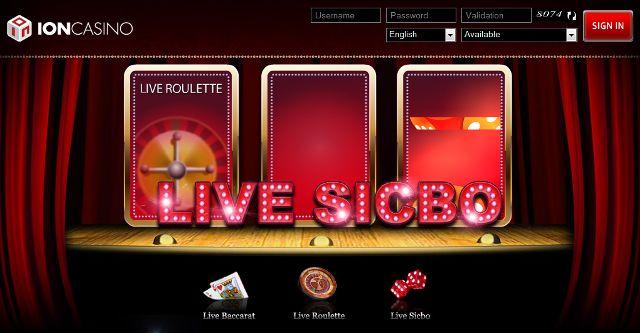 Live SicBo Ion Casino