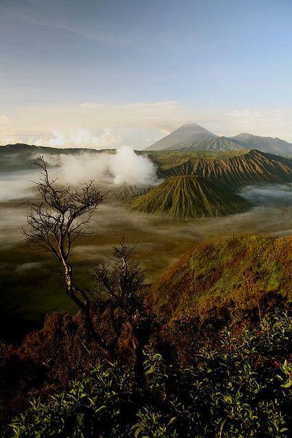 Bromo Tengger Semeru National Park, East Java, Indonesia by Nicolas Monnot, via Flickr
