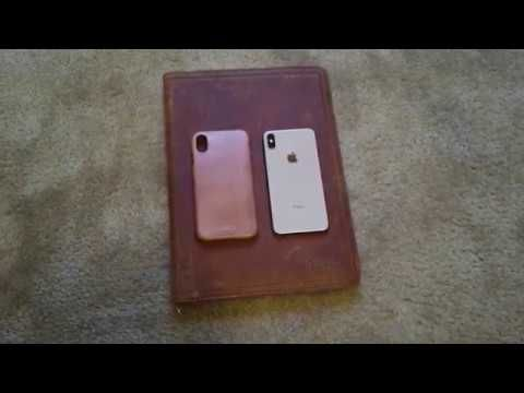 brand new d109e c30bb Saddleback Leather-basically based iPhone XS Max Case Overview ...