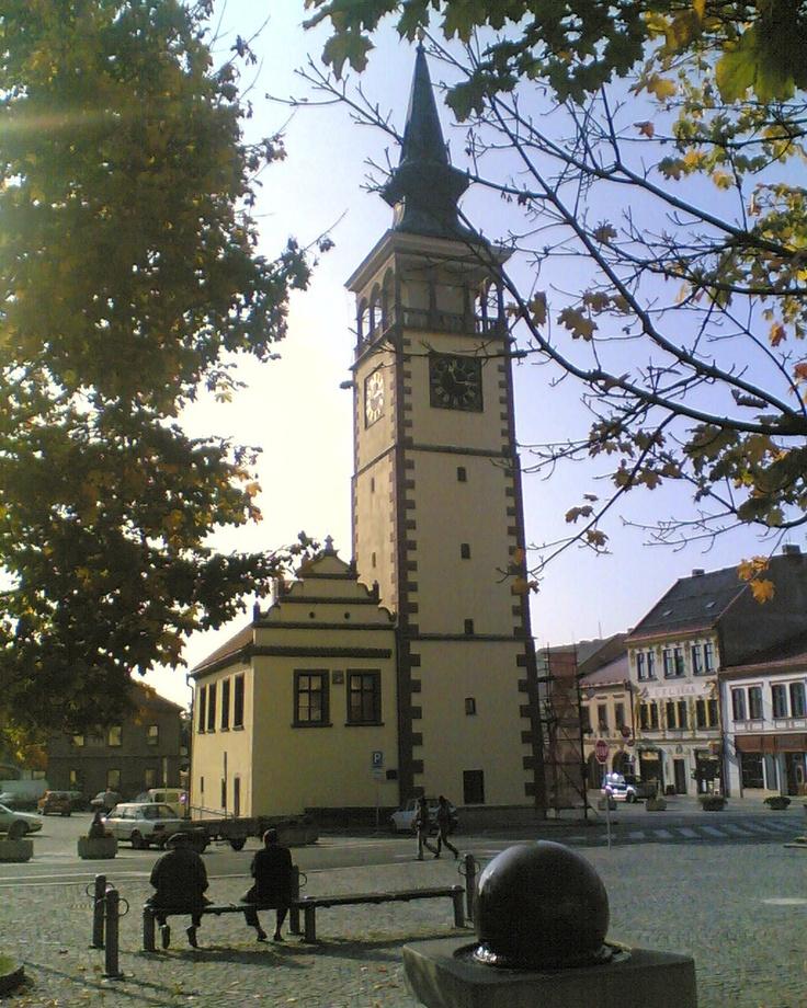 Česko, Dobruška - Renesanční radnice