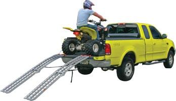 ATV Ramps. Heavy Duty Steel & Aluminum Equipment Loading Ramps - - Aluminum ATV Ramps, ATV Loading Ramp, Folding ATV Ramp.