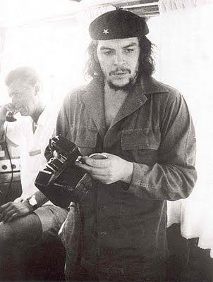 Che with Nikon S2