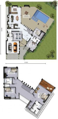 Alpine Floor Plan - great if you have a view