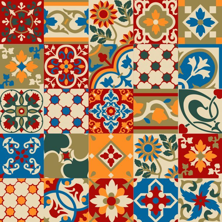 Adesivo De Azulejo Haus For Fun Hidraulico 03 15X15 tiles Pinterest Patterns, Fabric
