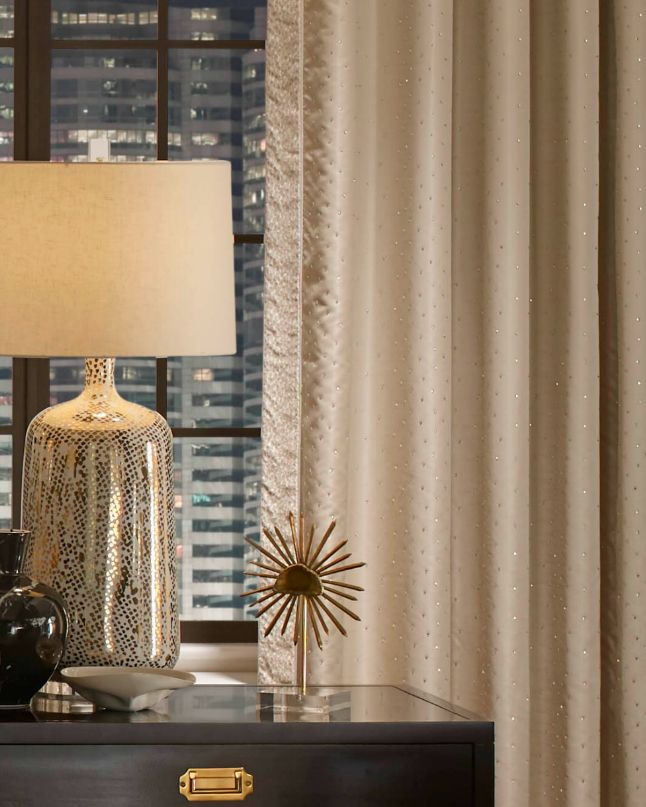 So Lovely, The Fabric Of Those Drapes U2014can You See The Delicate Sparkles?