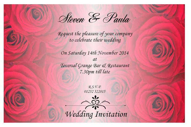 Wedding Invitation Templates | Wedding Invitation Design Quotes