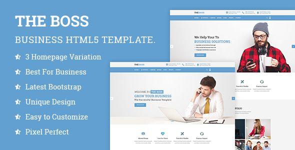 The Boss v1.0 - Corporate / Business HTML Template  -  https://themekeeper.com/item/site-templates/boss-corporate-business-html-template