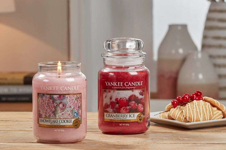 Christmas fragrances - Yankee Candle