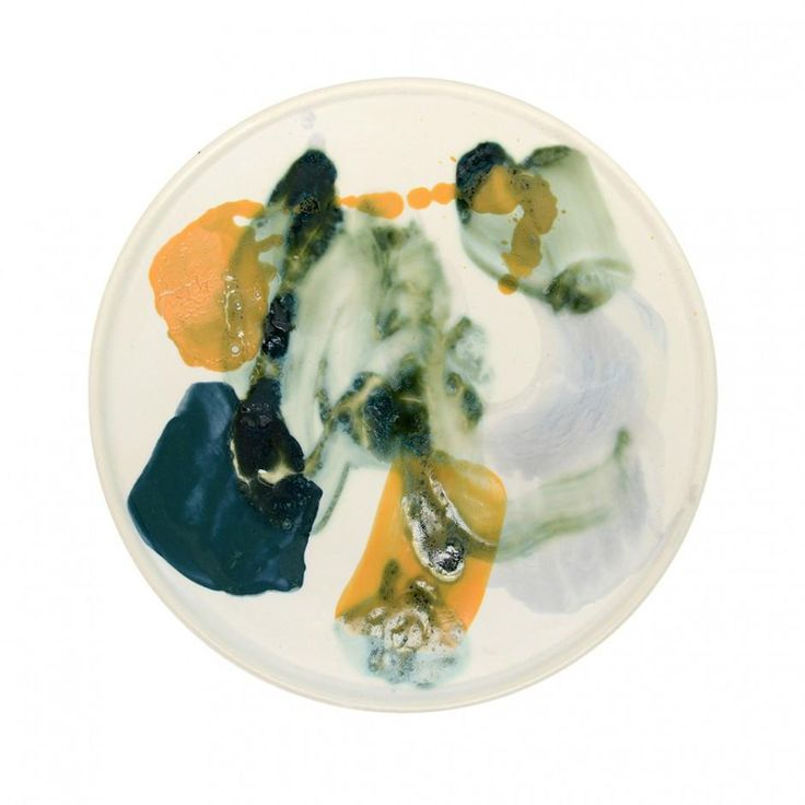 Bonnie & Neil | Abstract Splash Platter