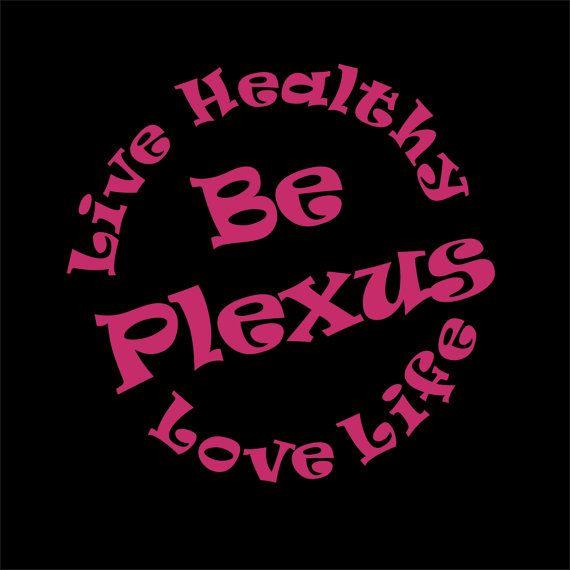 Live healthy love life be plexus car decal plexus compliant