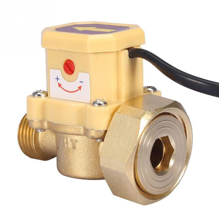 G1g12 thread water pump adjustable flow sensor pressure