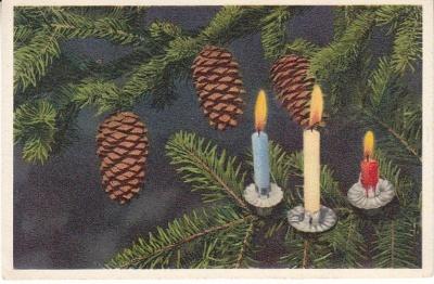 Thor E Gyger Postcard - 7232 - Christmas Decoration