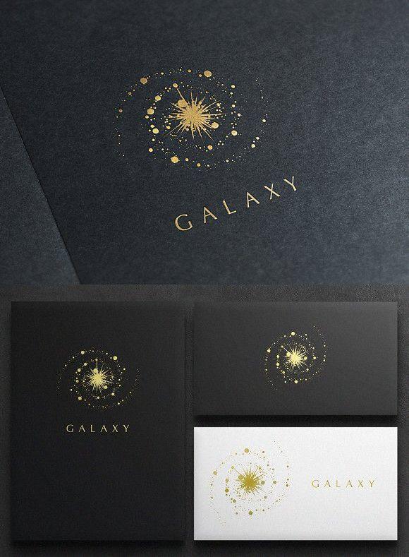Galaxy Logo. Logo Templates