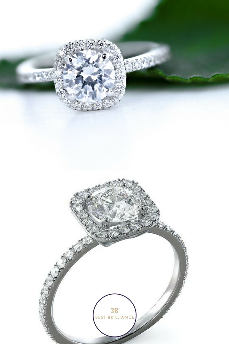 53 best Engagement Rings HALO images on Pinterest