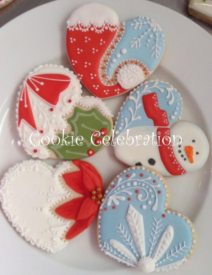Best decorated christmas cookies ideas on pinterest