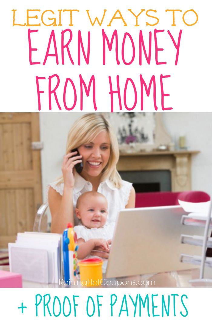 New List of Ways to Earn Money from Home (List of Legit Survey Companies) + Proof You Earn Money! - Raining Hot Coupons
