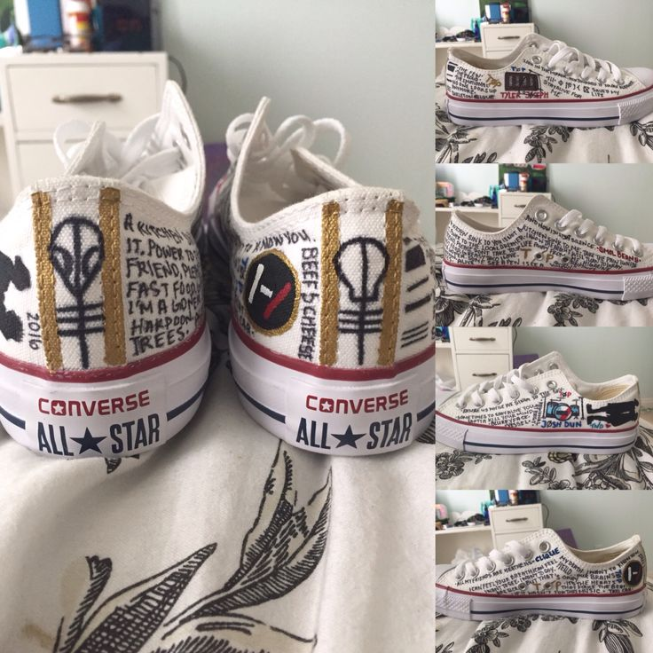 Twenty one pilots shoes