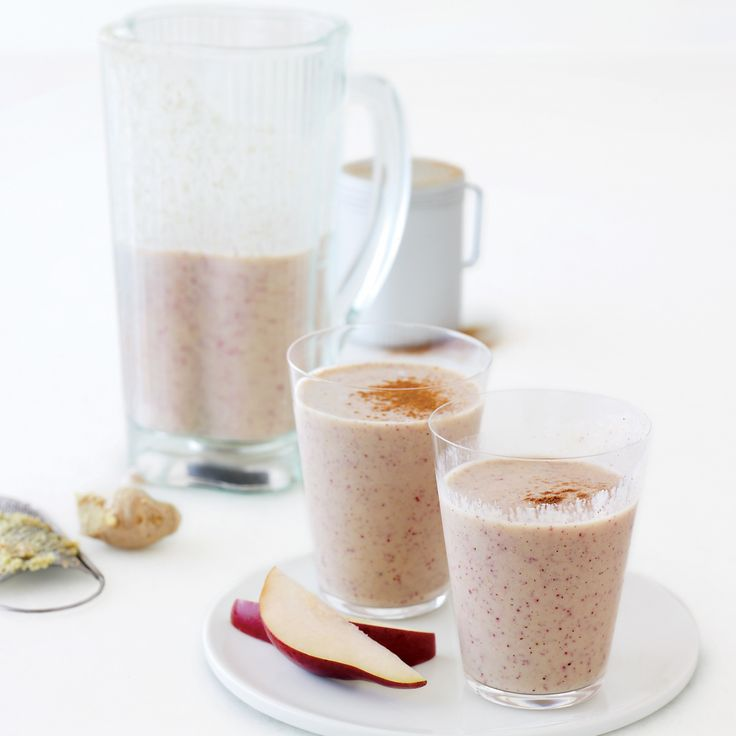 Pear, Oat, Cinnamon, and Ginger Shakes | Recipe