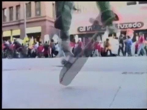 The skateboarding god, Rodney Mullen.