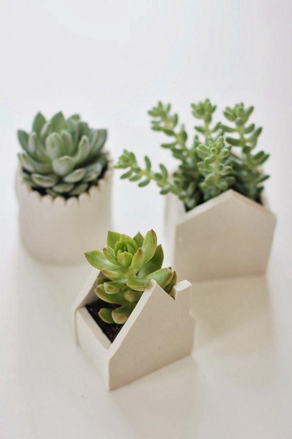 Decoracion facil diy maceteros originales para cactus - Decoracion de maceteros ...