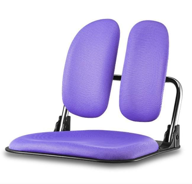 Ergonomic Violet Floor Chair Folding Tatami Seat Legless