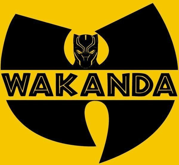 #wakanda clan ain't nothin to funk with. #wutang x #blackpanther