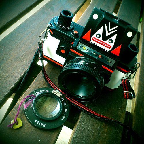 Holga Close-Up Lens on Your Konstruktor Brings Lots of Fun Did...