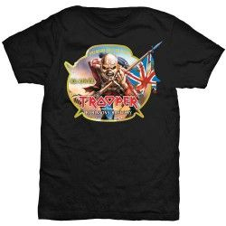 Tricou Iron Maiden: Trooper Robinsons Beer