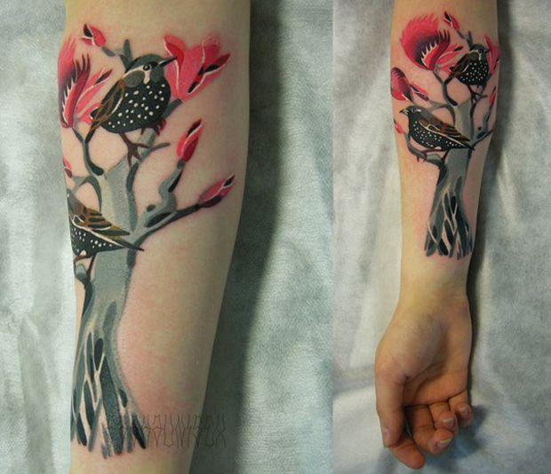 followthecolours sasha unisex 12 #tattoofriday   Sasha Unisex/VYRIY