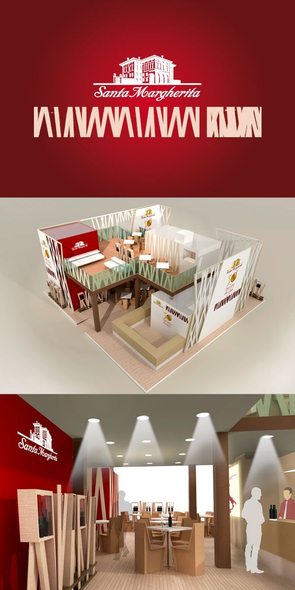 Santa Margherita Wine - Vinitaly stand proposal