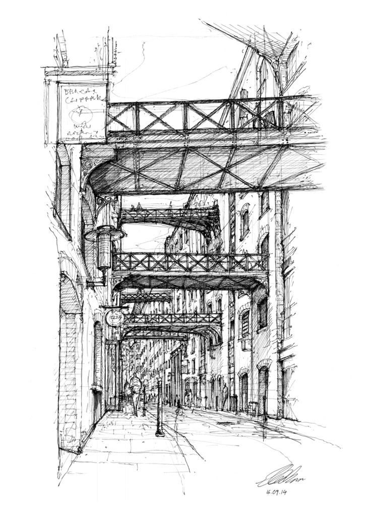 Architectural Drawings Of Bridges 10 best my drawings images on pinterest | interior architecture