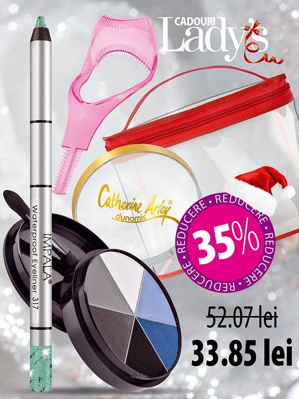 Set make-up ochi Smokey eyes - Lady508 Set make-up ochi Smokey eyes - Lady508, Ladys.ro
