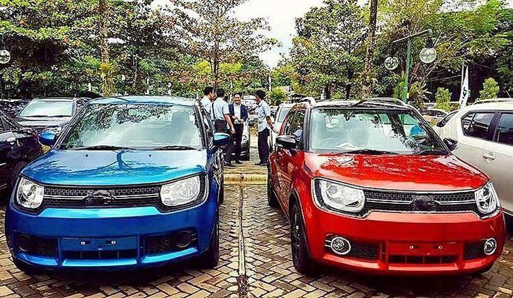 Ini dia #SuzukiIgnis yang siap diluncurkan oleh #SuzukiIndonesia mungkin di launching di #IIMS2017 #Suzuki #ignis @OtoJourney