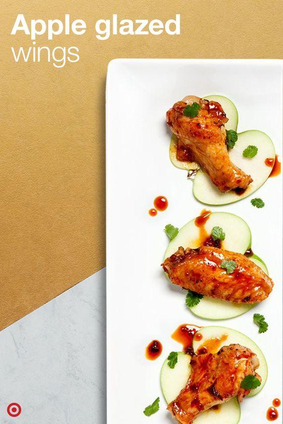 Apple Glazed Wings