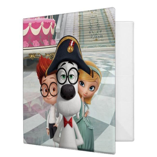 Mr Peabody Sherman In France Binder Zazzle Com Dog Animation Mr Peabody Sherman Peabody
