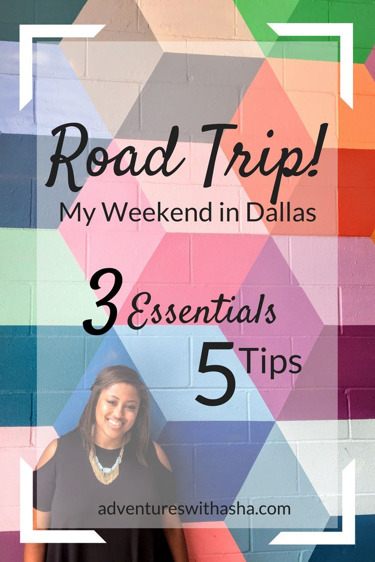 Planning a road trip and need some ideas? I've got snack, podcast, and planning tips over on the blog! More road trip tips and essentials over at adventureswithasha.com // road trip tips // road trip essentials // Dallas, TX // mural