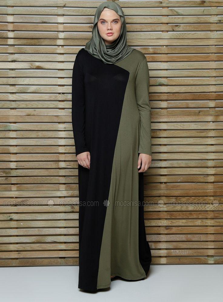 Topped Dress - Black - Alia