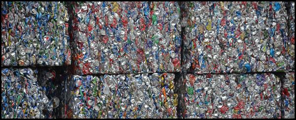 Recycled Aluminum Cans from our Heber Recycling Center are compressed and baled, so they can be melted down and used again. We are currently buying Aluminum ...