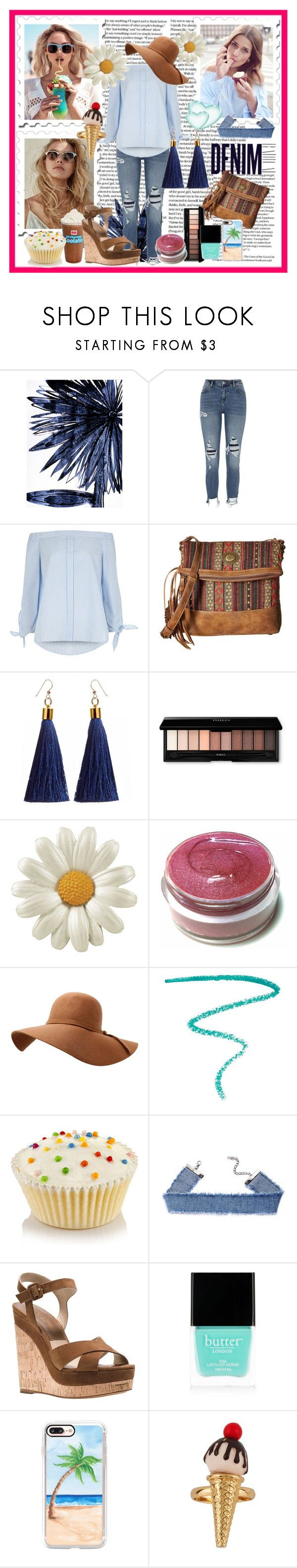 """""""Casual look"""" by annagiro on Polyvore featuring moda, Leftbank Art, Wildfox, River Island, Alima, American West, Marc Jacobs, Michael Kors, Butter London i Casetify"""
