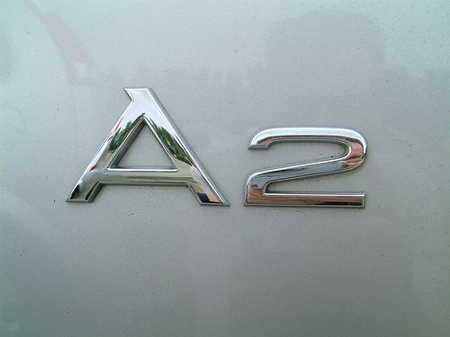 Audi A2 Logo - Badge - Emblem