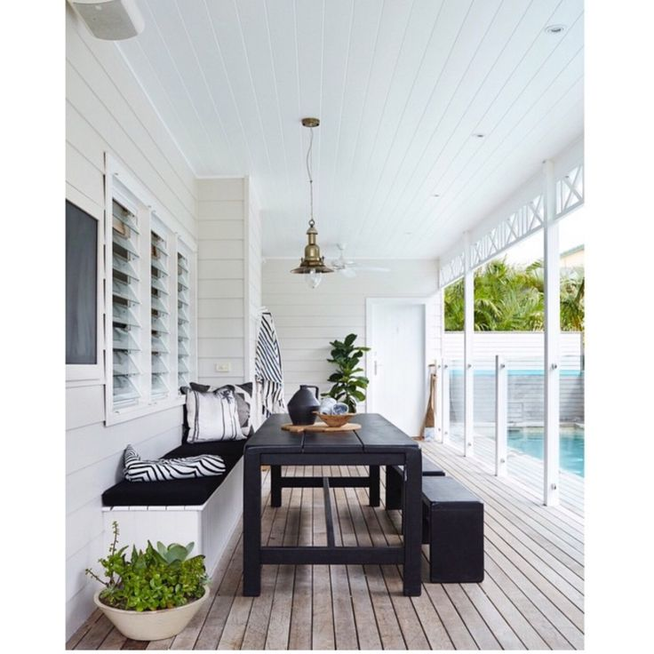 Atlantic Byron bay. Deck colour n black n white. Love.