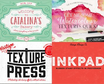 The Ultimate Designer's Collection (Huge Variety of Best-Selling Resources) Just $29.  Lots of Retro / Vintage tools included.