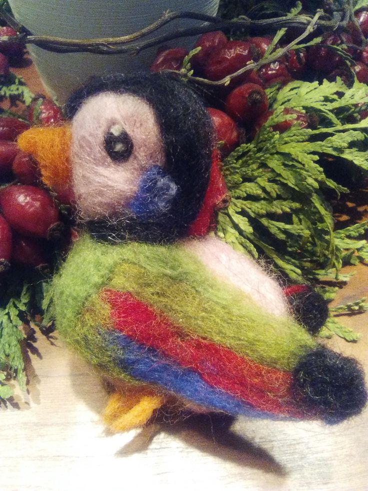 Ptaszek z filcu