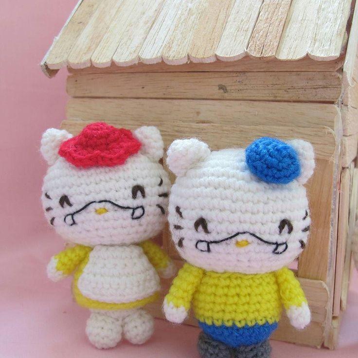 Amigurumi Heartless Pattern : 321 best images about Hello Kitty on Pinterest