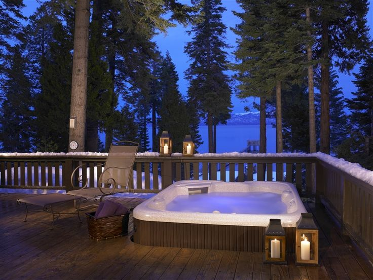Rejuvenating. Revitalizing. Refreshing. These are the words that should describe your backyard. If this is not true with your backyard, find inspiration from our Hot Spring gallery of hot tub installations and deck design ideas: http://www.hotspring.com/planning-tools/hot-tub-installation-ideas?utm_source=pinterest.com_medium=social%2Bmedia_content=installation%2Bideas_campaign=pinterest